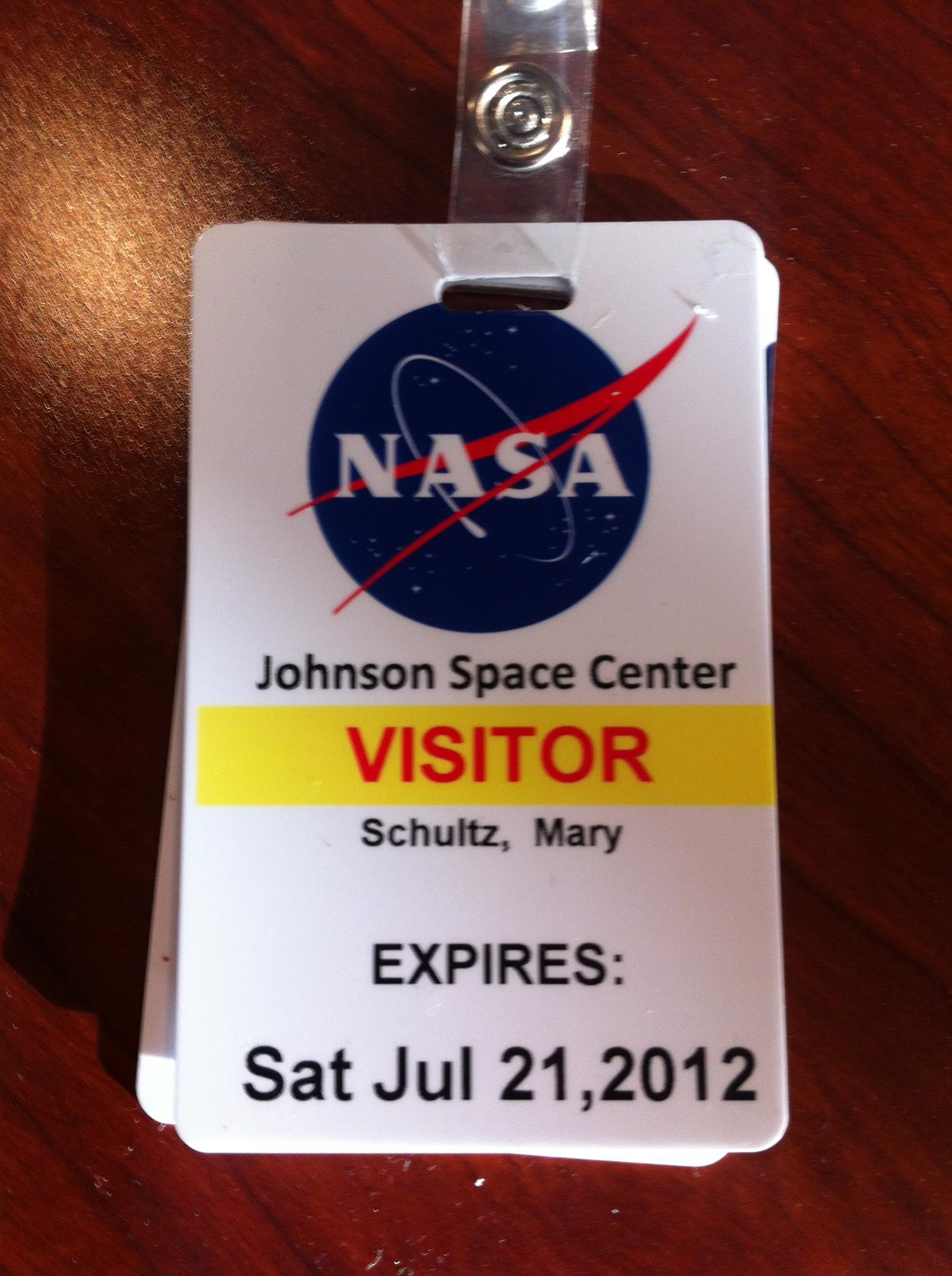 nasa employee badge page 4 pics about space. Black Bedroom Furniture Sets. Home Design Ideas